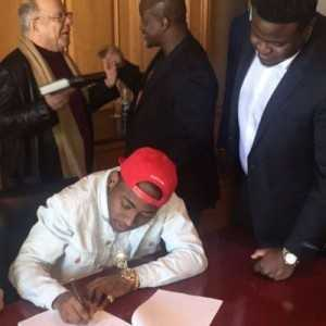 Top Sony Officials Confirm Davido's Deal