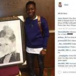 American Singer, Ciara meets Nigerian student who did an artwork of her (See Photos)