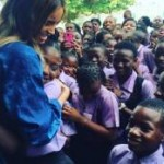 Ciara visits secondary schools in Lagos (See Photos)