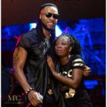 How Flavor Made His Female Fans Cry Because Of His Body In Ivory Coast (See Photos)