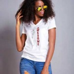 Fashion!! Kemi Awoyemi Debuts Her First Line Of Sassy T-Shirts Tagged Thresh Tees