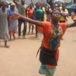 Hawkers Of Pure Water In Edo StateProtest Over The Increase Price Of 'Pure Water'