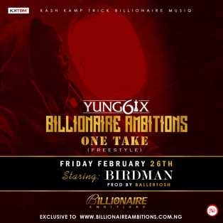 Download Music Mp3:- Yung6ix – One Take (Freestyle)