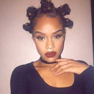 Crochet Hair Bantu Knots : ... Yarn Braids, Faux Locs To Crochet & More: Update Your Braids Lingua