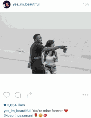 "Ice Prince And Maima Still Going Strong. ""You Are Mine Forever"" – Maima"