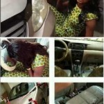 Nollywood Actress, Iyabo Ojo's P.A Faints After A Car Was Presented To Her By Her Boss (Photos)