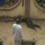 Thief Goes Into Coma AfterHe Was Caught And Beaten Mercilessly In Abuja (See Photos)