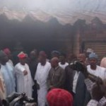 Kano State Governor visits Sabon Gari market gutted by fire, says Nigeria should rethink its emergency management strategies (See Photos)