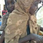 Kebbi State Governor's wife comes to the aid of 10-year-old girl whose 22-year-old mother is mentally-challenged (Photos)