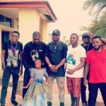 Harrysongz Hangs Out With Comedians  Emmanuella And Markangel (See Photos)