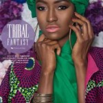 Ghanaian Style Blogger Eny, Creates Tribal Fantasy With Chic Pieces From Local Ghanaian Designers
