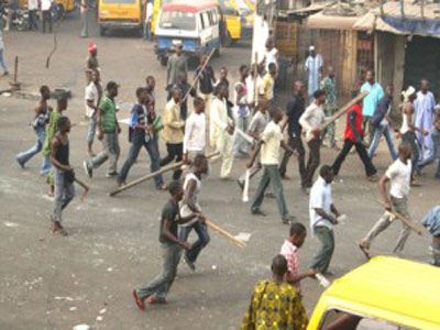 In Lagos: Hoodlums Shoot At Group Of Protesters, Kill Motorcyclist Injure Others