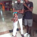 Little Comedian Emmanuella Strikes A Cute Pose With Mark Angel (Photo)