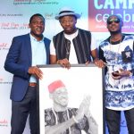 Talented Fan Presents 2BABA With Painting Aa Campari Celebrates Honourable Masters Degree