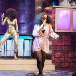 "Toke Makinwa Takes On Chigurl In MTV Base's ""Lip Sync Battle Africa"""