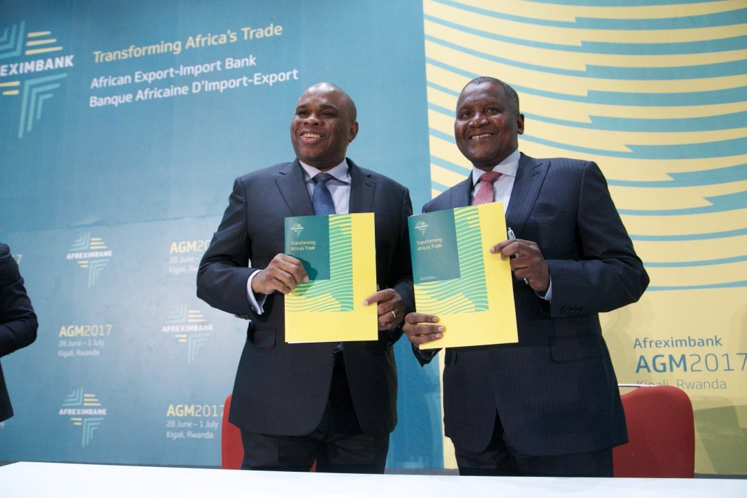 Image result for Afrexim Bank and dangote