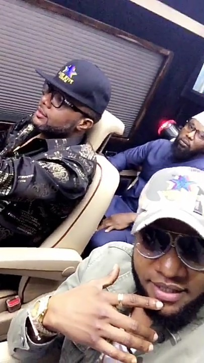Kcee & E-Money Visit Their Village & Spray Cash To Villagers
