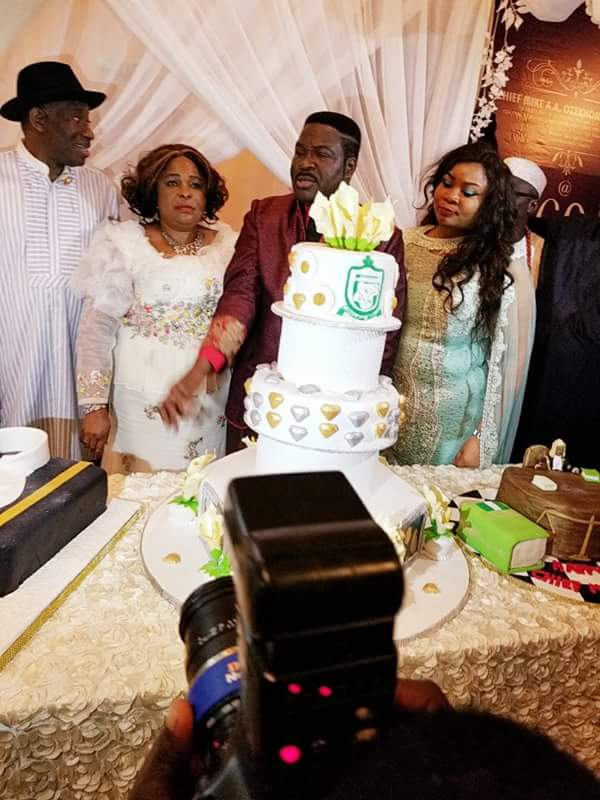 Check Out Patience & Goodluck Jonathan's Look To 60th Birthday Of Mike Ozekhome