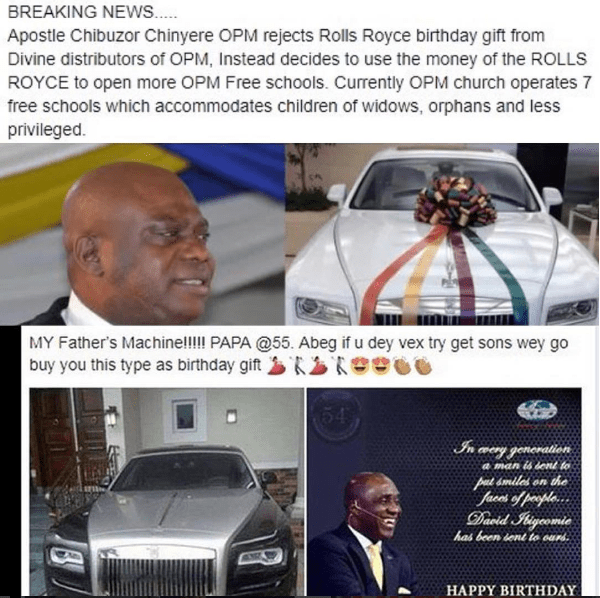 Daddy Freeze Reacts To The Cars Given To 2 Pastors As Birthday Gifts