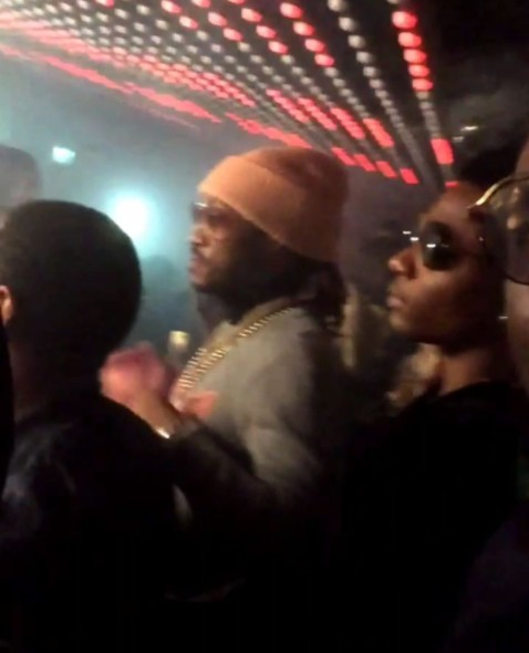 Wizkid Goes Clubbing With American Rapper, Future After A Successful Concert