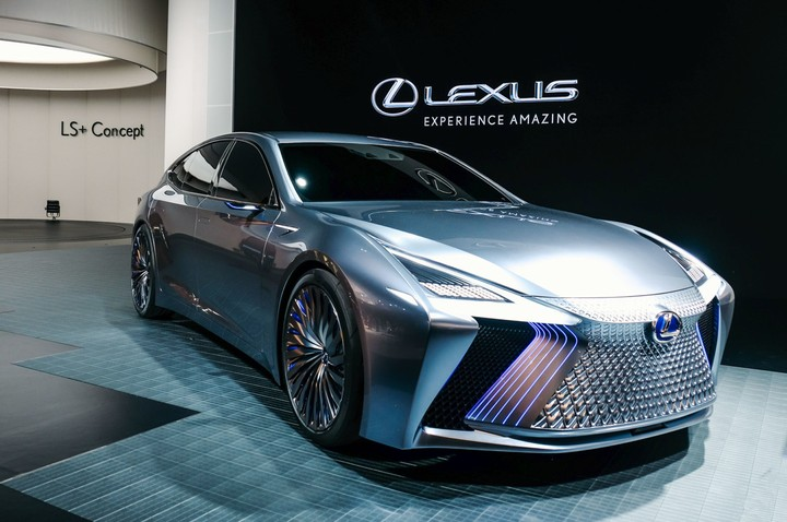lexus ls  concept  a model planned for introduction by 2020