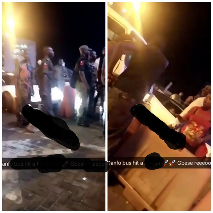 Image result for Danfo Bus Bashes Lamborghini at Lekki Toll Gate (Video)