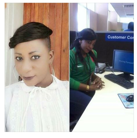 Stanbic Bank Sentenced beautiful Zambian staff To Prison For Stealing Bank's Money