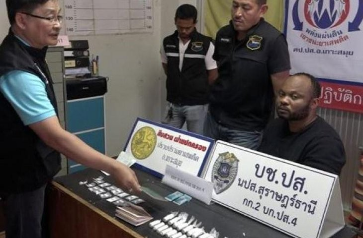 See Nigerian Drug Suspect Arrested In Thailand After A Wild Chase By Police