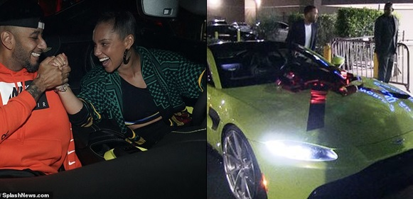 Alicia Keys Surprises Hubby With A Luxurious Ride For His 40th Birthday
