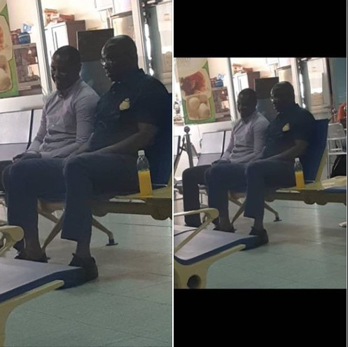 Fayose Pictured At Abuja Airport On His Way To Lagos For Trial