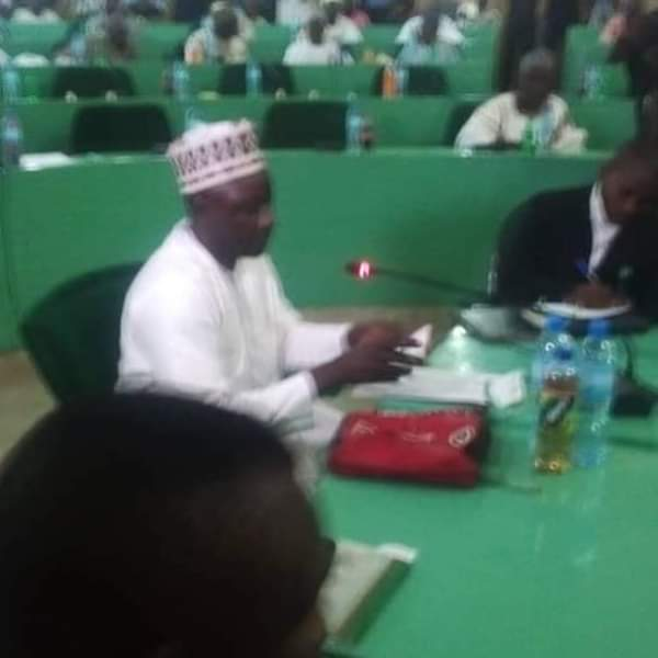Ganduje Scandal: Jafar Jafar Answering Questions In Kano House Of Assembly (Photos)