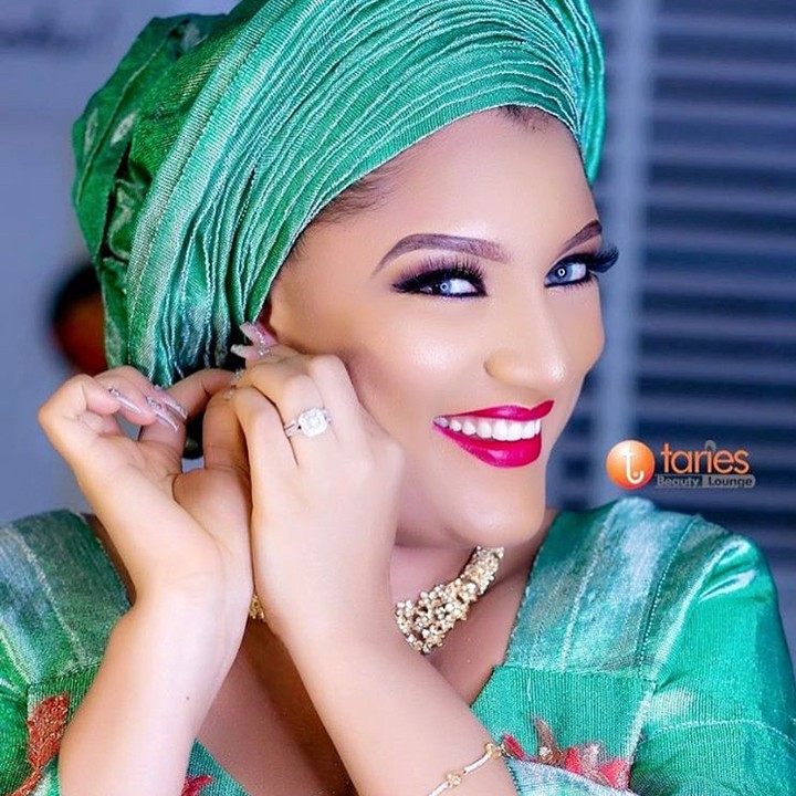 Ex-BBNaija Gifty Powers Shares Stunning Bridal-Themed Photos