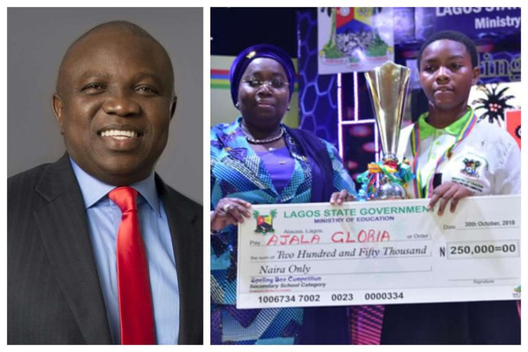 Barber's Daughter Emerges One-Day Lagos State Governor (Photo)
