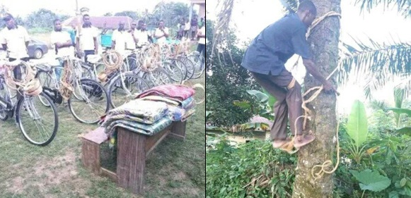 LG Chairman Empowers Villagers With Bicycles, Palm Wine Tapping Items