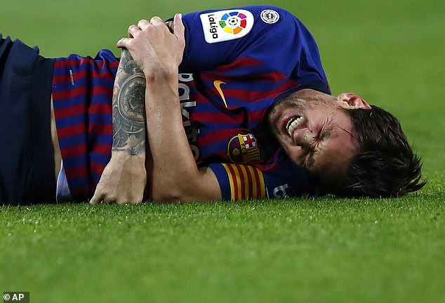 Lionel Messi To Miss El Clasico Clash Against Real Madrid After Fracturing Bone In His Right Arm
