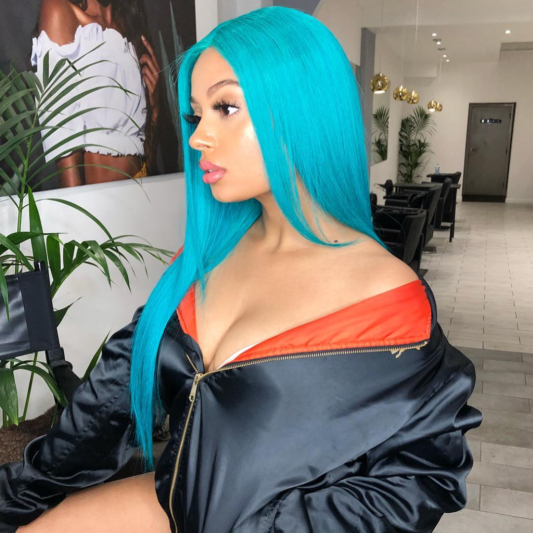 Tekno baby mama is showing off her post patum body as she