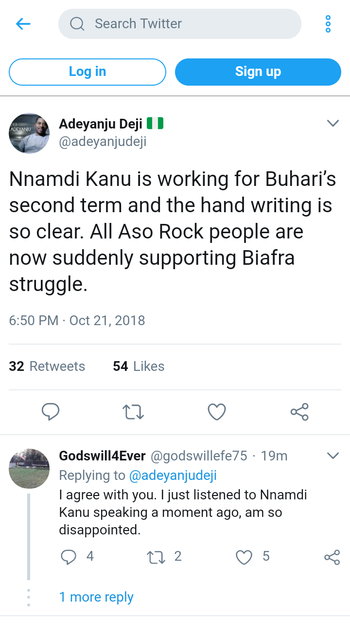 Nnamdi Kanu Is Working For Buhari's Second Term – Deji Adeyanju