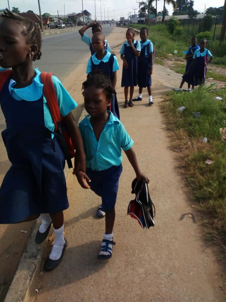 Students Denied Classes, Chased Out From School Over N600 In Rivers State (Photos)