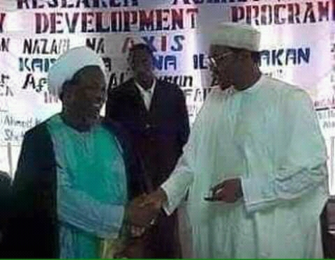 Throwback Photo Of Buhari And Shiite Leader, El-Zakzaky