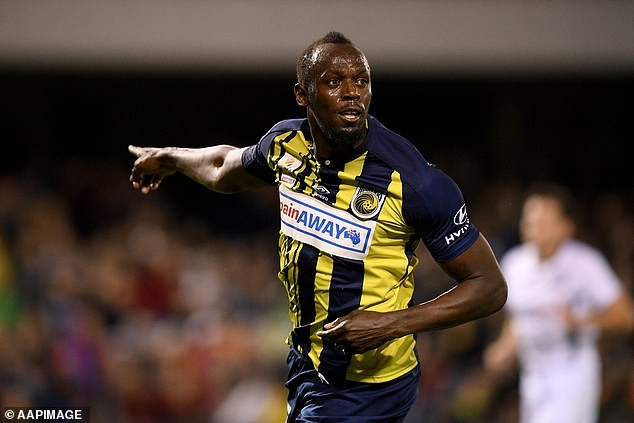 Usain Bolt Offered Contract By Australia's Central Coast Mariners Football Team