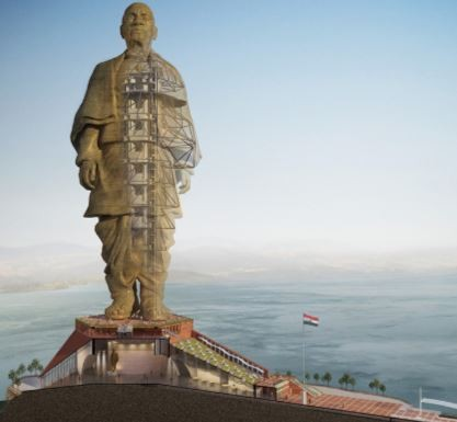 With 250 Engineers And 3400 Workers, India Unveils World's Tallest Statue