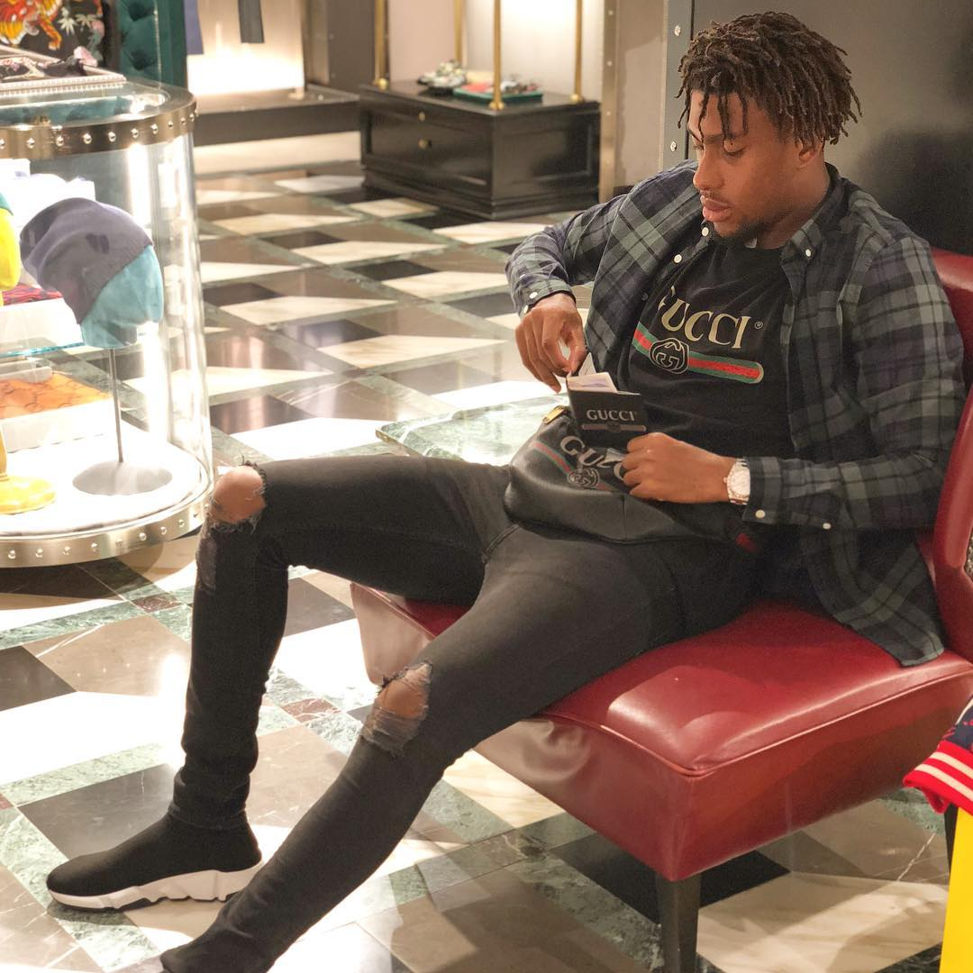 Alex Iwobi All Guccified In New Photo