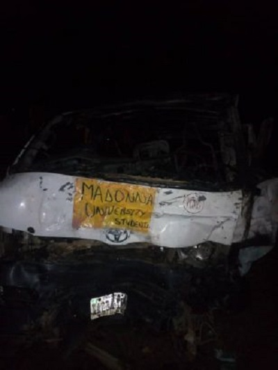 Three Dead As Two Buses Conveying Madonna University Students Is Involved In Fatal Accident (Graphic Photos)