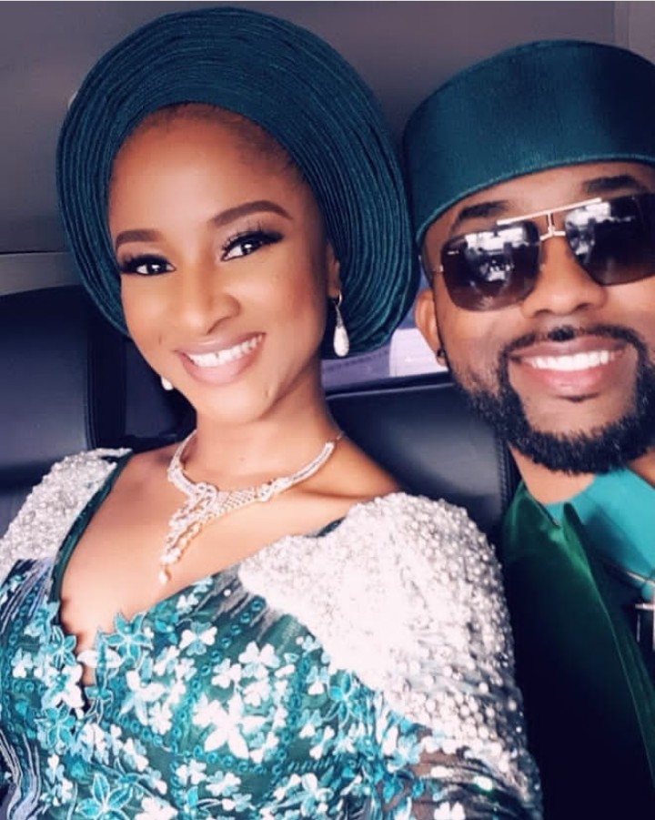 'This Is What Sunshine In Human Form Looks Like': Banky W Gushes Over His Wife