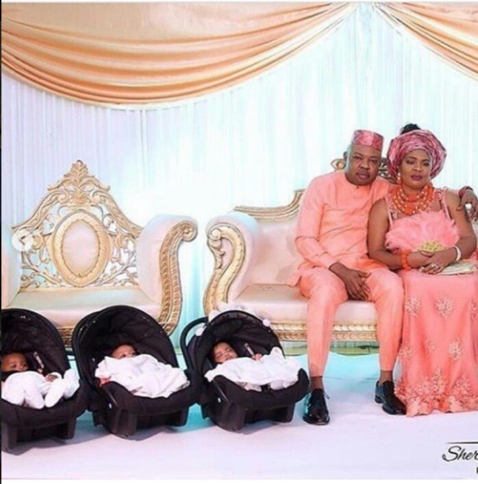 After 13 Years Of Childlessness, Man And His Wife Show Off Their Newborn Triplets