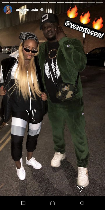 Check Out These Fun Photos Of DJ Cuppy And Wande Coal