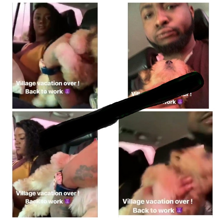 Davido Back To Lagos After Spending Time With Chioma In His Village