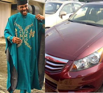 Designer Hits It Big And Buys New Car For His Wife After Ebuka Wore His Design And Made Him Go Viral