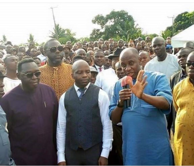 Rivers State PDP Chieftain Dumps Party, Joins APC With Many Supporters (Photos)
