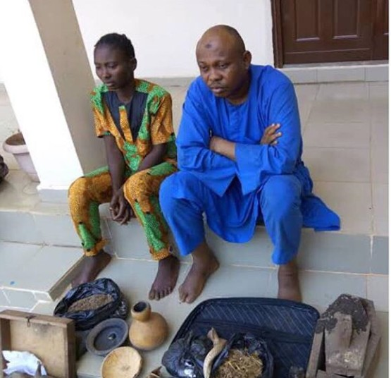 Hospital Attendant And Herbalist Arrested For Stealing Baby's Placenta In Kwara